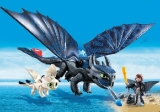 70037 DreamWorks Dragons© Hiccup and Toothless with Baby Dragon