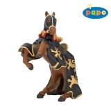 39762 Horse of King Richard Black & Gold with Lance *18