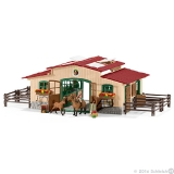 42195 Stable with Horses and Accessories