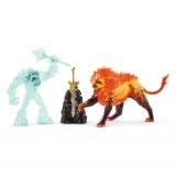 42455 Battle for the Superweapon - Frost Monster vs. Fire Lion