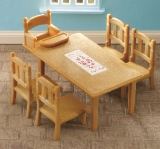 4506 Sylvanian Family Table and Chairs AA8953