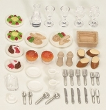 4717 Sylvanian Dinner for Two Set AA9565