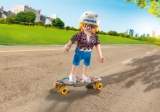 9338 Playmo-Friends Female Longboarder