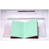 "9""x7"" Exercise Book: Lined (10mm) - Apple/Green"