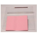 "9""x7"" Exercise Book: Lined (10mm) - Rose"