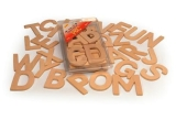 Alphabet Templates - Wooden Uppercase
