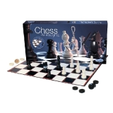 Chess & Draughts Set