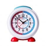 Easy Read Alarm Clock Red/Blue