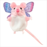 Finger Puppet - Mouse (Pink)