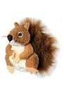 Finger Puppet - Squirrel (Red)