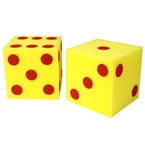 Giant Soft Dice - Dots