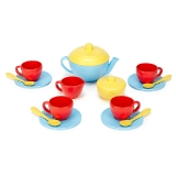 Green Toys - Tea Set, Blue Teapot