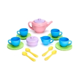Green Toys - Tea Set, Pink Teapot LA7036