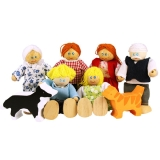 JT117 Heritage Playset Doll Family