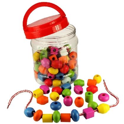 lacingthreading-beads