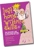 Left Hand Writing Skills Combined Book