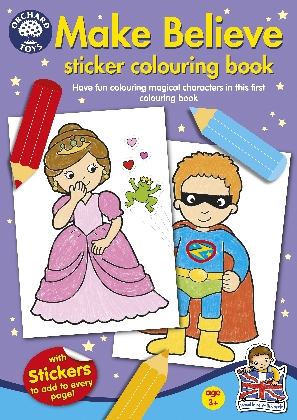 make-believe-colouring-book