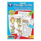 More Things To Do Sticker Activity Book