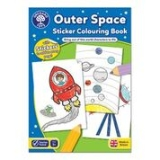Outer Space Sticker Colouring Book