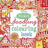 Pocket Doodling & Colouring Book - Red