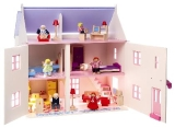 Rose Cottage (with Furniture & Dolls) LA1426