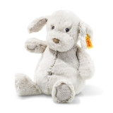 Soft Cuddly Friends Baster Dog - Light Grey