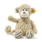 Soft Cuddly Friends Bingo Monkey - Beige