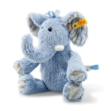 Soft Cuddly Friends Earz Elephant - Blue