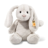 Soft Cuddly Friends Hoppie Rabbit - Light Grey