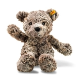 Soft Cuddly Friends Terry Teddy Bear - Mottled Brown