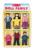 Wooden Doll Family AA7278