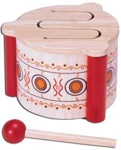 wooden-drum