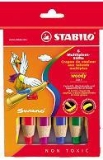 Woody 3 in 1 - Pack 6 Pencils